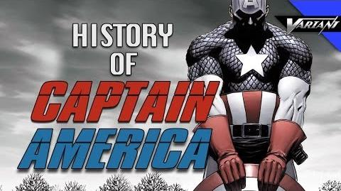 History Of Captain America!