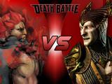 Akuma VS Shinnok