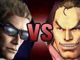Johnny Cage vs. Dan Hibiki