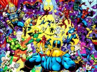 Thanos vs Marvel
