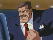 Final Fight - Mike Hagger as he appears in the Street Fighter Cartoon