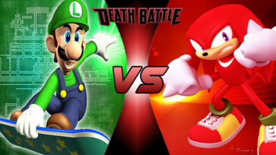 Death Battle-Luigi VS Knuckles the Echidna