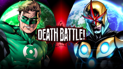 Green Lantern vs Nova (SoMaShadow)