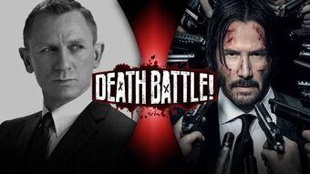 James Bond Vs John Wick Death Battle Fanon Wiki Fandom