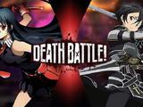 Akame vs Kirito