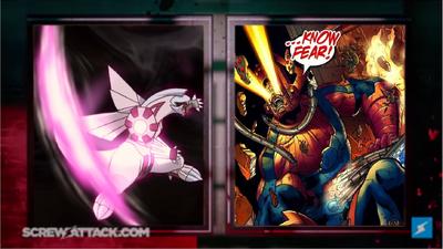 Palkia vs Galactus set