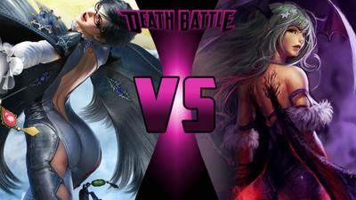 Bayonetta vs Morrigan