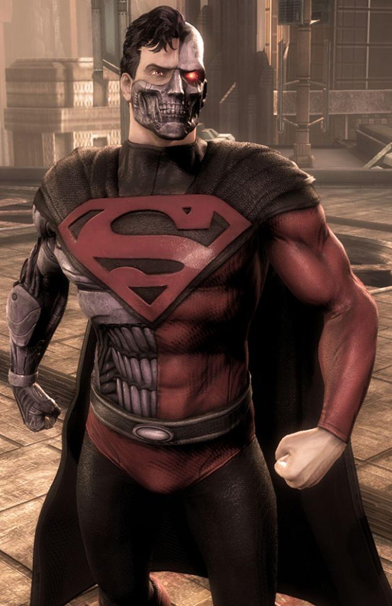 "Custom Super Powers Cyborg Superman /""Henry Hank Henshaw/"" Read Description"