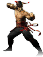 Mortal Kombat - Liu Kang as seen in Mortal Kombat 2011