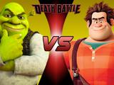 Shrek VS Wreck-it Ralph