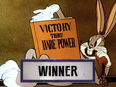 Bugs Bunny vs Godzilla winner