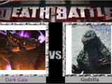 Dark Gaia vs Godzilla