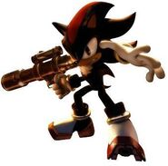 ShadowTheHedgehog with gun 2