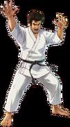 Segata Sanshiro - Segata Sanshiro as he appears in Project X Zone