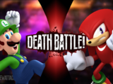 Luigi VS Knuckles the Echidna