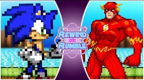 SONIC vs FLASH The Movie! (Sonic The Hedgehog vs The Flash Animation) Rewind Rumble Movie