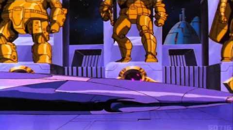 Transformers G1 The Movie The Death of Starscream