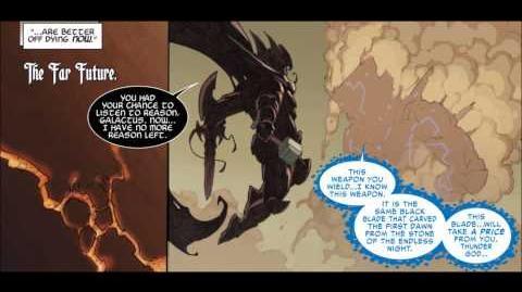 Galactus vs Necro King Thor-Finale