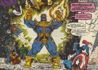 Thanos vs everyone