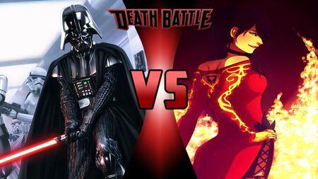 Dumb Vader vs Cinder Fail