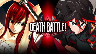 Erza vs Ryuko