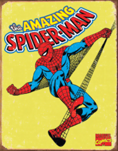 Marvel Comics - Spider Man Retro Tin Sign