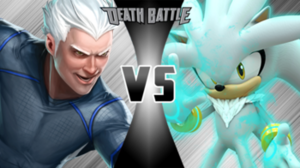 Quicksilver vs Silver the Hedgehog
