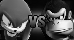 Knuckles Donkey Kong MA