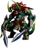The Legend of Zelda - Ganon's (Ganondorf) artwork form from Ocarina of Time