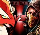 Blaziken vs Scorpion