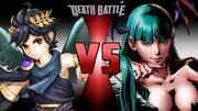 Dark Pit VS Morrigan Fanmade