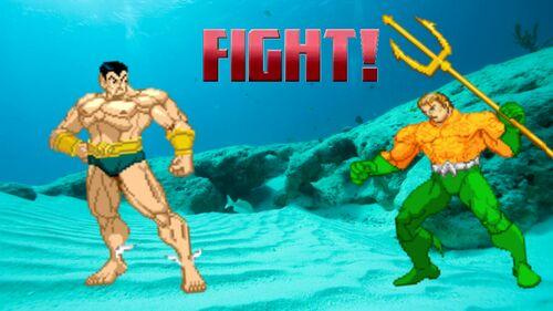 Aquaman vs Sub-Mariner