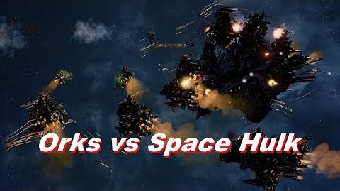 Orks vs Space Hulk! Rank 60, Heroic Difficulty, 1500 Points - Battlefleet Gothic Armada