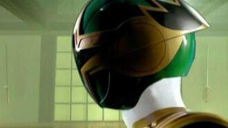 Power Rangers Ninja Storm - All Green Samurai Ranger (Cam) Morphs