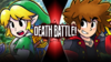 Link VS Sora Final True (Sharaku)
