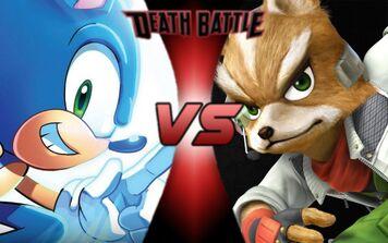 Fox McCloud vs Sonic