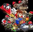 Mario becomes an eldritch demon