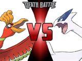 Ho-Oh vs Lugia