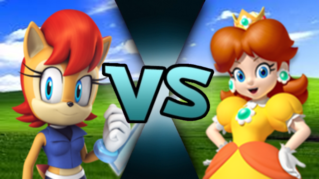 Sally Acorn vs Daisy