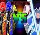 Megaforce Rangers vs Voltron Force