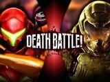 Samus Aran VS Doomguy