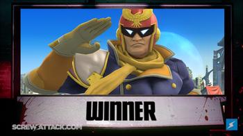 The Winner is Captain Falcon