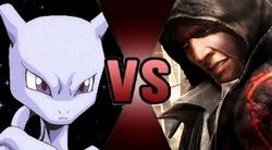 Mewtwo vs Alex Mercer