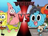 SpongeBob SquarePants and Patrick Star vs Gumball and Darwin Watterson