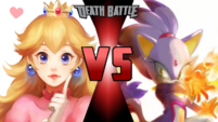PRINCESS PEACH VS BLAZE THE CAT