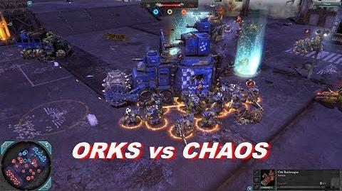 Orks vs Chaos, 3v3, Faction War - Warhammer 40k DOW2 Retribution - Elite Mod