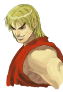 Street Fighter - Ken Masters close-up as seen in Street Fighter EX3