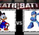 Scrooge McDuck vs Mega Man