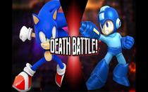 The Blue Blur VS The Blue Bomber