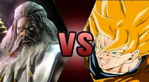 Goku Vs Zeus Death Battle Fanon Wiki Fandom Powered